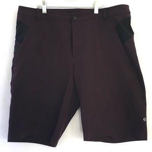 LULULEMON men's shorts belt loops pockets